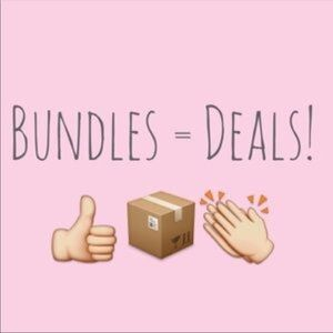 Just Bundle what you like and make an offer 🌸💕